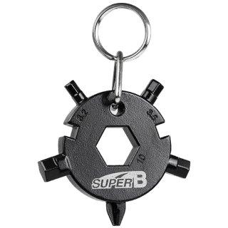 SUPER B Multifunktions Schlüsselanhänger TB-FD08-BK