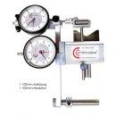 Centrimaster Comfort Messeinrichtung mit Messuhren 1/100mm